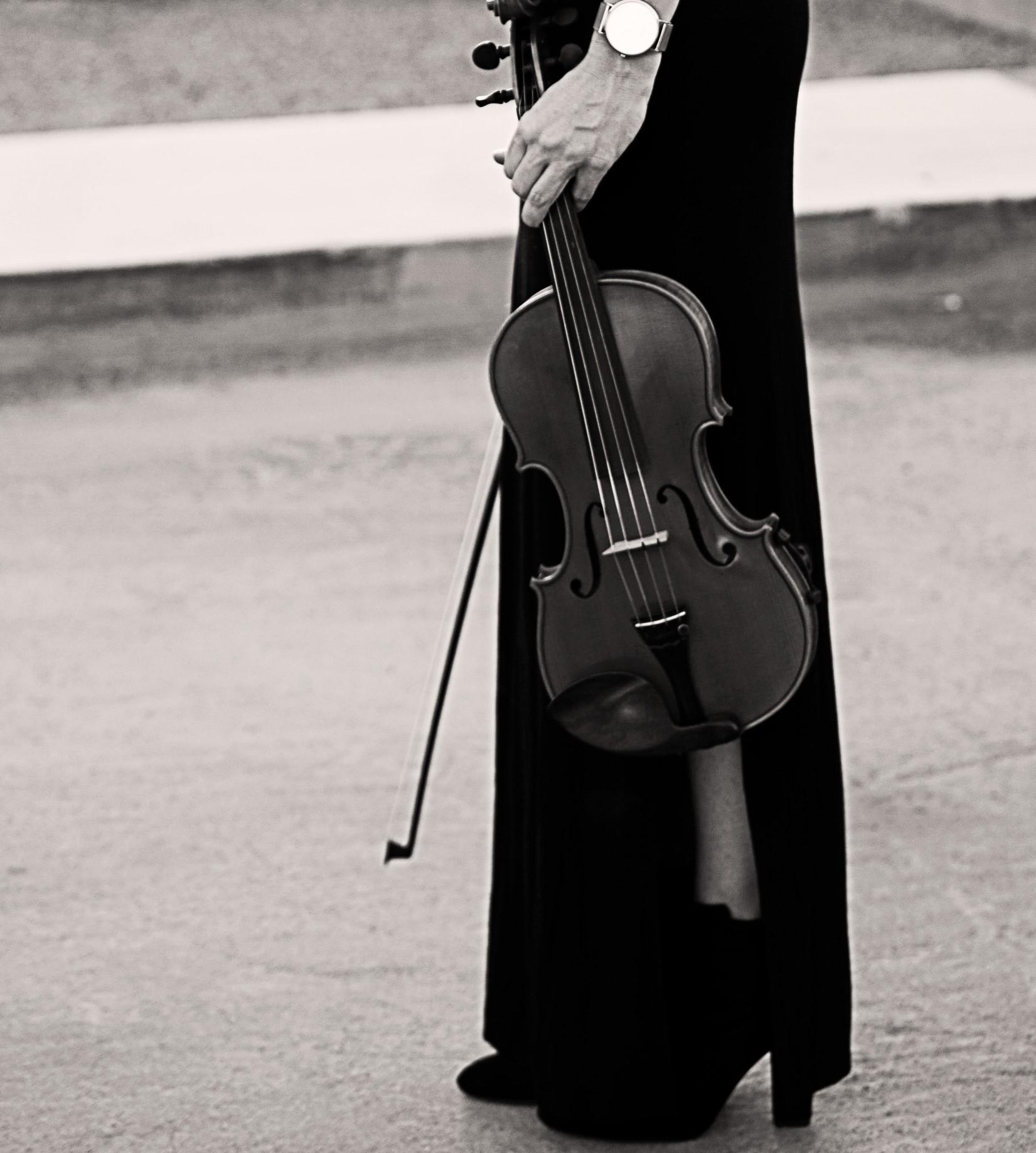 Kim Weston and violin