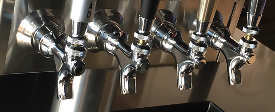 beers on tap at Rott n' Grapes