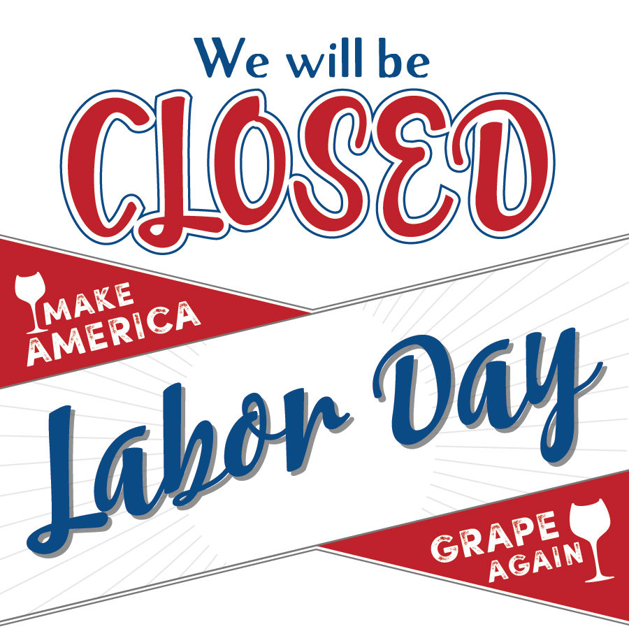 It is a photo of Rare Closed for Labor Day Printable Sign