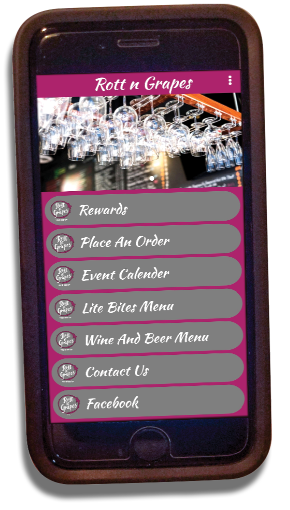 Rott n' Grapes app