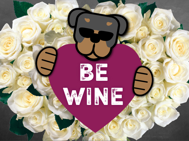 "Valentine's Day Dinner at Rott n' Grapes RoRo ""Be Wine"""