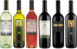 St. Supery 6-pack of wine for tasting
