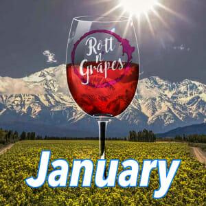 January Wine Tasting - Mountain Wines