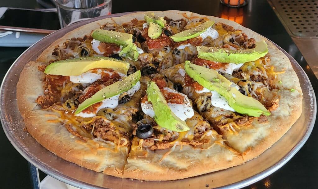 Taco Tuesday Pizza