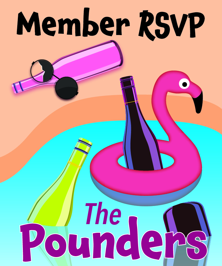 member RSVP July Patio Porch Pool Pounders Wine Tasting